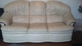 3 seater sofa and recliner armchair