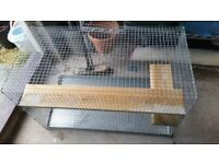 Chincilla, hamster, rat, mouse cage