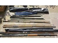 Various Fishing Rods