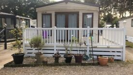 ABI Ambleside Mobile Home 2013 for sale on private Suffolk Holiday Park situated close to the coast