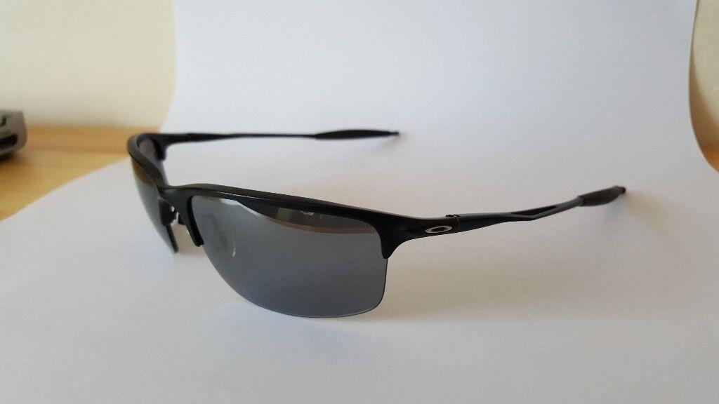 fa64e4fd64cd ... new zealand oakley half wire 2.0 sunglasses black chrome 6857b f1cb8