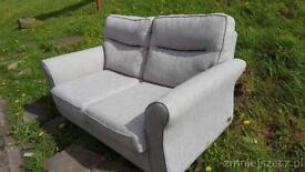 DFS. CO. UK. ATHENA 2 Seater Sofa in dove grey