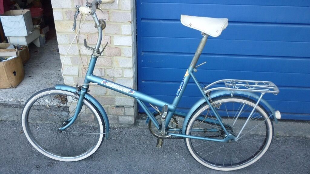 Vintage Triumph/Rayleigh 20 unisex shopping bike-20 inch wheels – a vgc Classic.