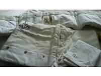 Mamas&papas quilt, pillowcase and cot bumper