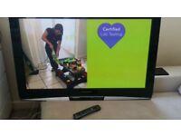 Panasonic viera 46 inches TV. Delivered.