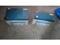 2 powersonic batteries