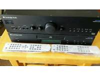 CAMBRIDGE AUDIO PROFESSIONAL QUALITY AMPLIFIER AND CD SEPERATES,JUS £130