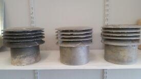 Three Gas Cowls £5 each