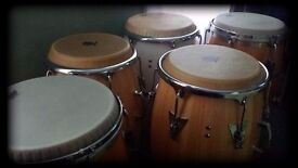 Percussionist Available For African, Caribbean or Latin Band