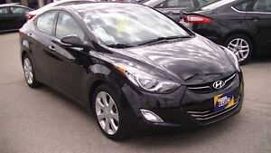 2013 Hyundai Elantra LIMITED WITH LEATHER & MOONROOF, 4 NEW TIRE