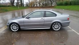 FOR SALE 2004 54 plate BMW E46 320ci M Sport Coupe, 1 year MOT, Full Service History