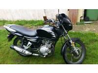 Jianishe 125cc motorbike 2 year mot £500ono