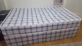 Small-double bed in a good condition