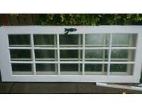 2x Glass panel doors 20 each