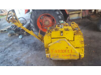 TWIN DRUM VIBRATING DIESEL ROLLER WITH HATZ ENGINE