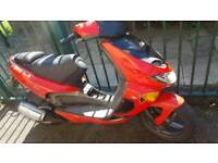 Aprilia sr 125cc 2 stroke x2
