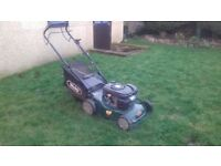 Webb self propelled lawnmower