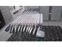 Tegra irons plus driver and putter for sale