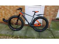 Cube nutrail 2017 fat bike