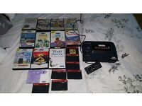 Sega Master System with 20 fun retro games as seen in photos and 2 games inbuilt.