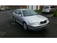 2004 53 skoda octavia 1.6 silver line great condition gd spec car