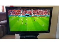 TV LCD Hitachi 42 inch Full HD 1080p FREEVIEW - CAN DELIVER