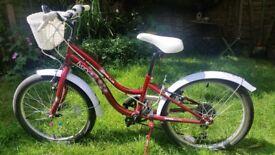 Apollo Ivory bicycle.