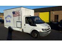 2002 ford transit,,2.4 di diesel rwd box project recovery etc no mot