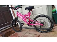 Moodyfox Athena pink bike in very good condition!can deliver or post!