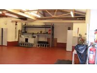 Warehouse Storage Factory to rent Liverpool L7 Near McDonalds 112.Sq Meters Shutters Secure Storage