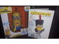 Minions Kevin Interactive Talking Toy A Movie Exclusive 35 Sayings Plus a Minions Activity Book