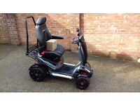 NEW TGA Vita X heavy duty mobility scooter unregistered superb