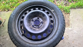 vauxhall astra spare wheel