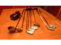 Junior Ram V Force Golf Clubs and carry bag- Right Handed - Ages 7 - 10