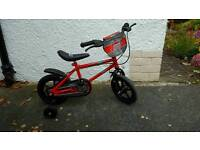 Boys bike ages 3-5
