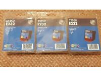 3 x Epson T067 colour cartridges for Stylus C48