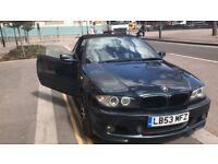 BARGAIN!! BMW 318CI M SPORT CONVERTIBLE - RARE OXFORD GREEN ( similar to mercedes audi golf)
