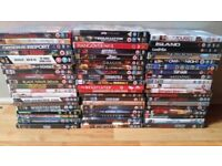 Large DVD Bundle - 65 Dvds Great Titles