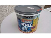 RONSEAL 5 YEAR WEATHER DEFENCE FENCE LIFE RED CEDAR