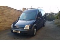 2008 / 08 Plate Ford Transit Connect 1.8TDCI T230 LWB HIGH ROOF CREW Panel Van NO VAT NO VAT NO VAT