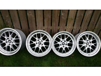 "19"" BBS LM GT Replica Alloys Staggered fitment Suit BMW E46"