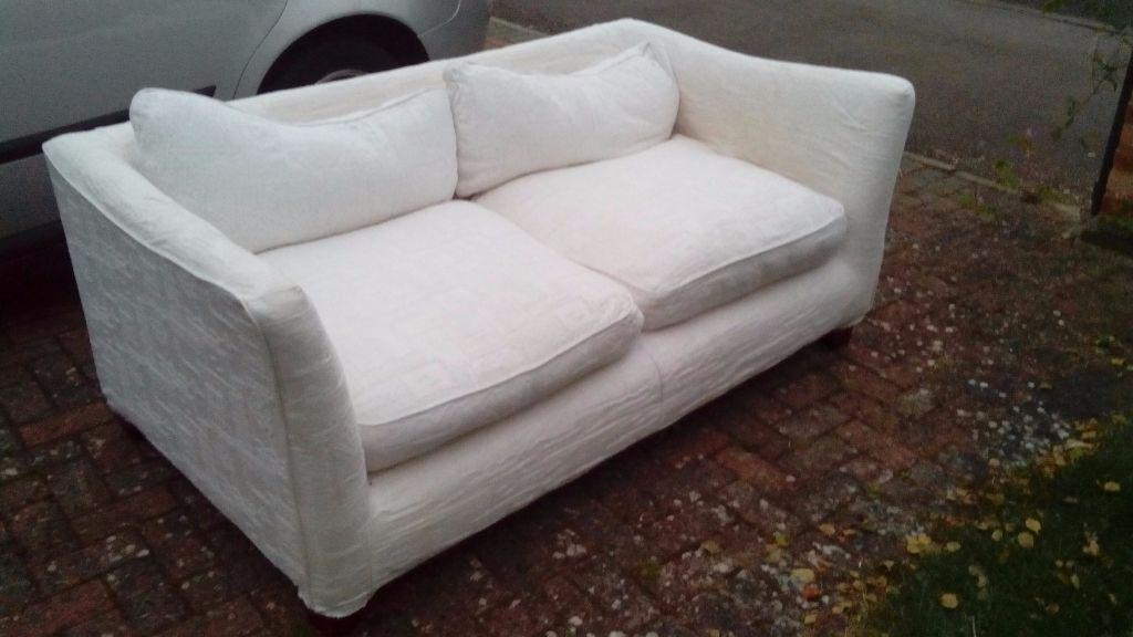 white sofa for sell in kidlington oxfordshire gumtree