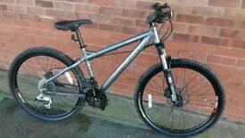 Carrera Fury Mountain bike 26 inch tyres 27 gears 16 inch frame Disc Brakes