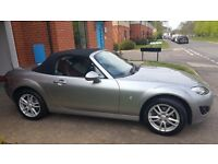 Mazda MX5 Convertible, fabulous little 2 seater car especially in the summer