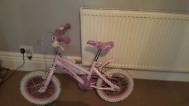 Kids princess bike