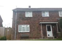 Three bed semi detatched bourn for four bed.