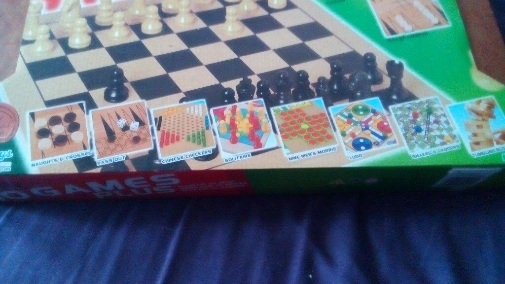 Case Blue Board Game : Brand new compendium of games in carring case in gillingham kent
