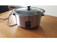 Large, easy to clean, Slow Cooker