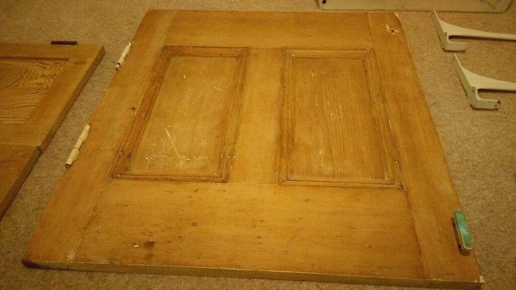 Antique Pine Cupboard Door
