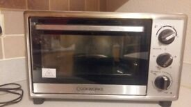 Cookworks mini oven and grill silver